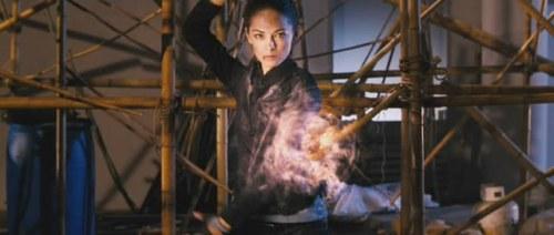 Tinha um Ryu que fazia essa pose mais legal no Animecon 2001