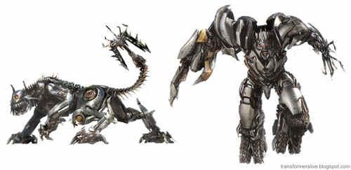 Gatinho e Megatron, amiguinhos do mal